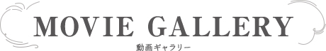 MOVIE GALLERY 動画ギャラリー